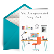 Your Hard Work Is Appreciated card image