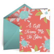 Mom Gift From Me To You card image