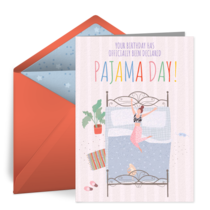 Pajama Day card image