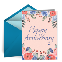 Anniversary Bouquet card image