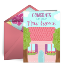 Congrats On Your New Home card image