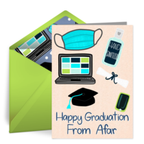 Happy Graduation from Afar card image