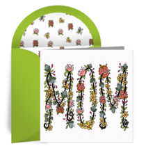 Floral Mom card image