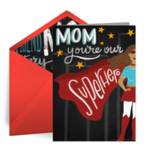 Mom Superhero card image