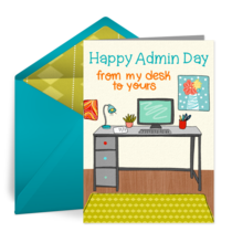 Admin Day From Home card image