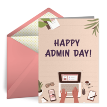 Office Desk Admin card image