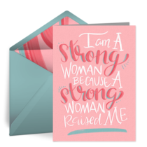 Strong Mom card image
