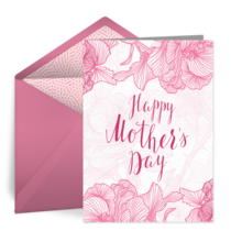 Mother's Day Roses card image