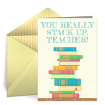Book Stack Teacher card image