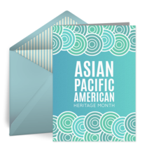 Asian Pacific American Heritage card image