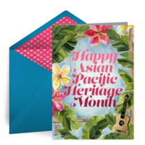 Tropical Heritage card image