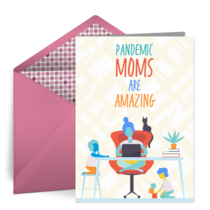 Pandemic Mama card image