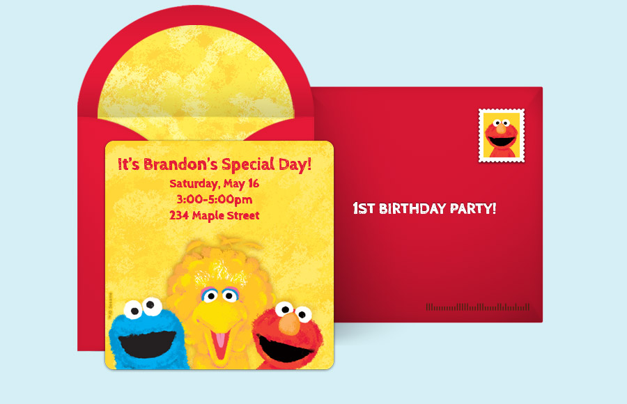 Plan a Sesame Street Friends Party!