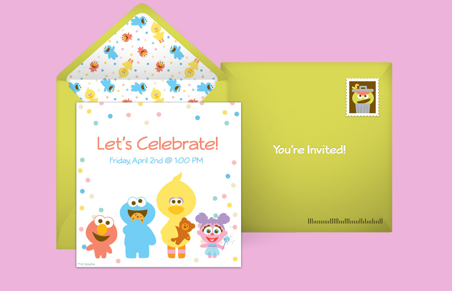 Plan a Baby Sesame Street Pals Party!