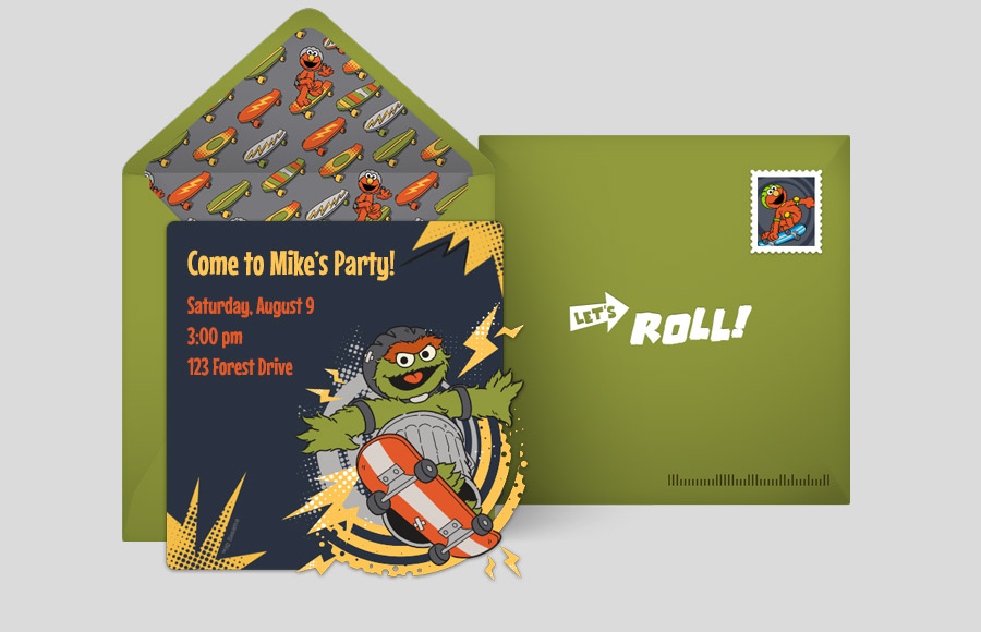 Plan a Oscar the Grouch Comic Party!