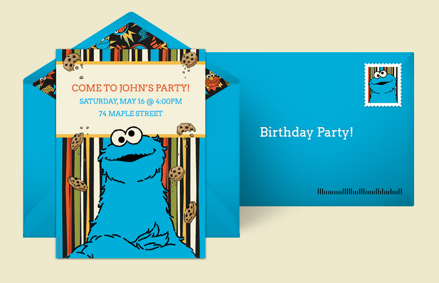 Plan a Cookie Monster Comic Party!
