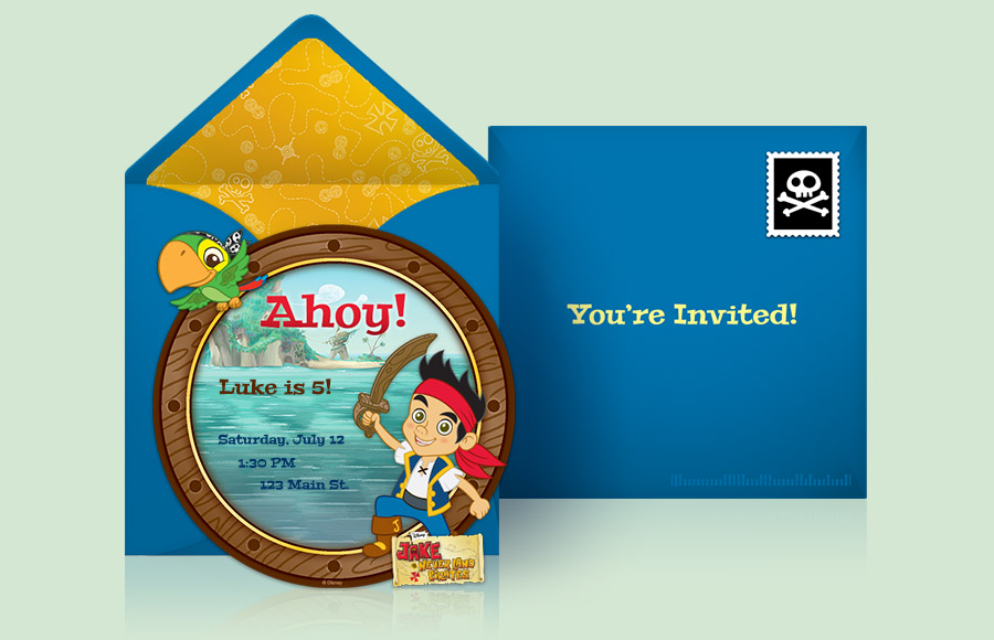 Plan a Jake and the Never Land Pirates Party!
