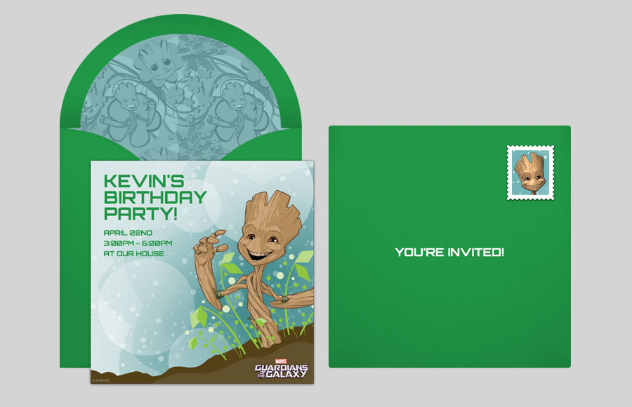 Plan a GOTG Baby Groot Party!