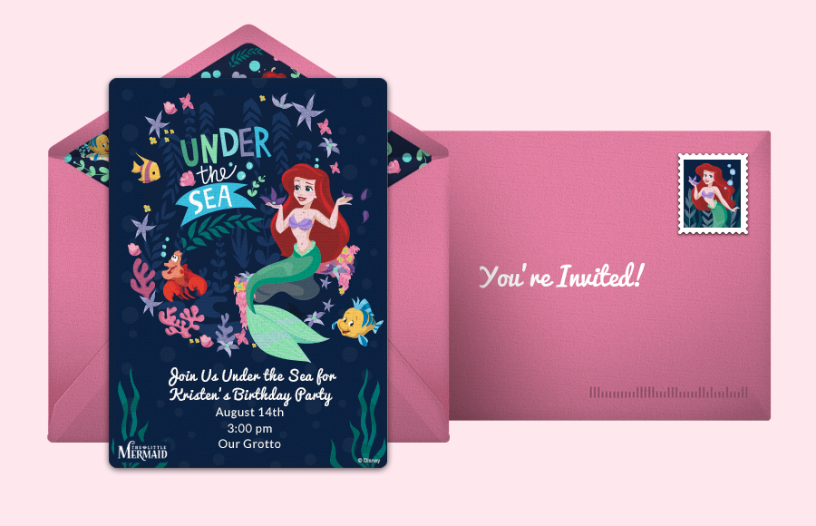 Plan a Little Mermaid - Under the Sea Party!