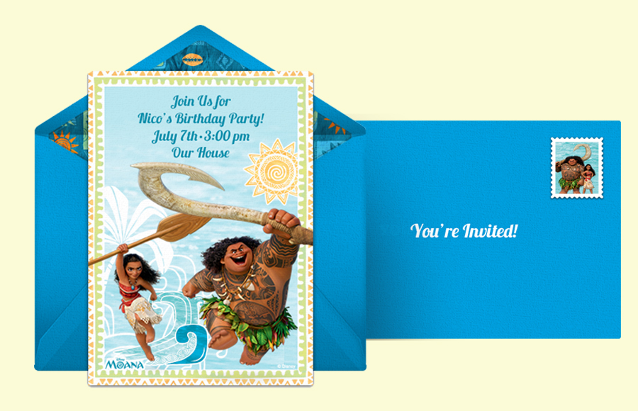 Plan a Moana & Maui Party!