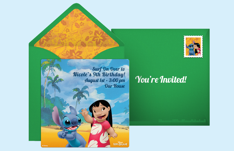Plan a Lilo & Stitch Party!
