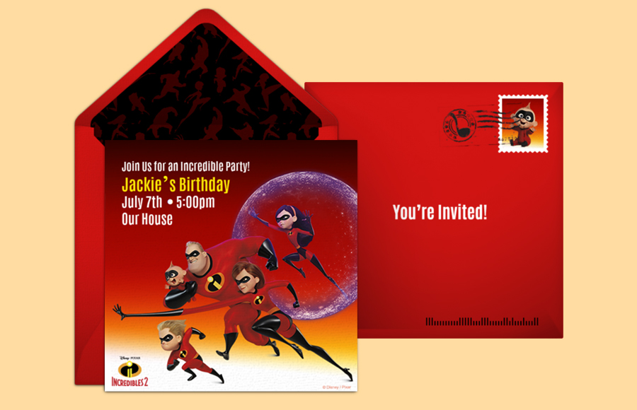 Plan a Incredibles 2 Party!