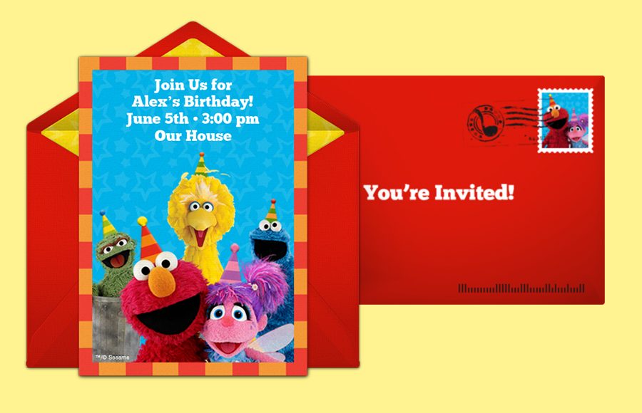 Plan a Sesame Street Party Party!