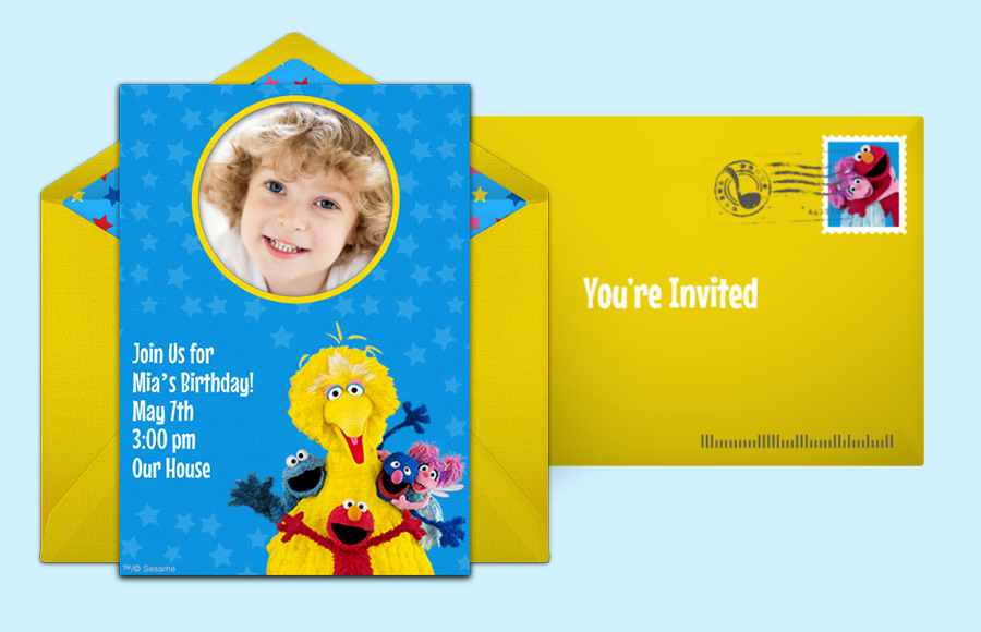 Plan a Sesame Street Group Photo Party!