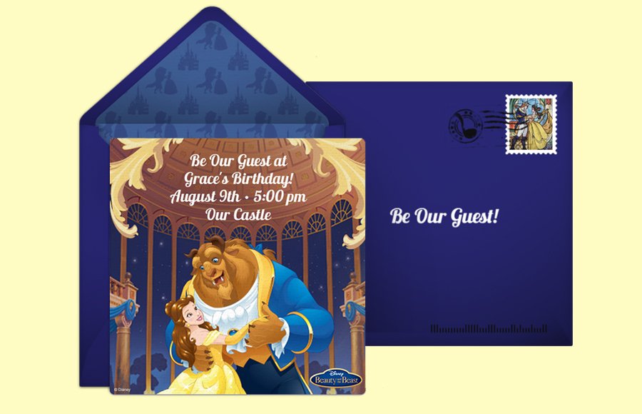 Plan a Beauty and the Beast Classic Party!