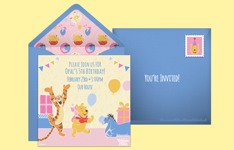 Plan a Winnie the Pooh Birthday Party!