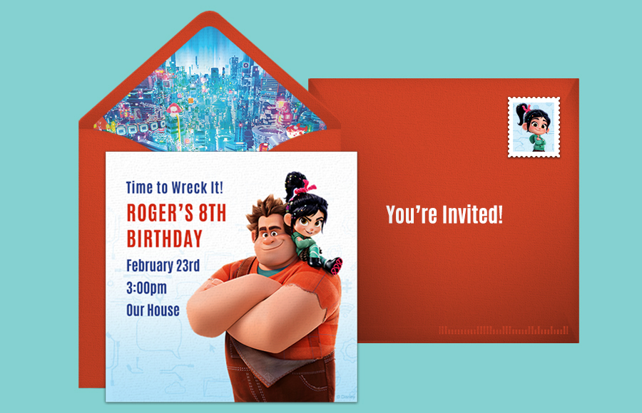 Plan a Ralph Breaks the Internet Party!