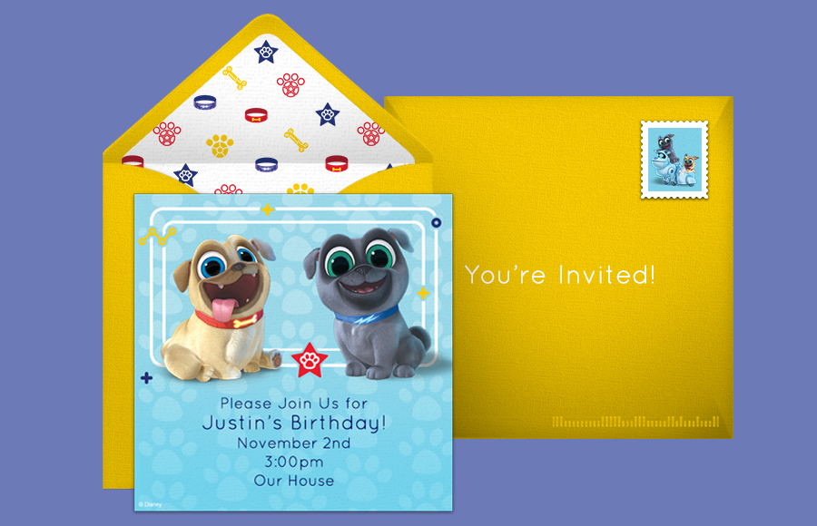 Plan a Puppy Dog Pals Party!