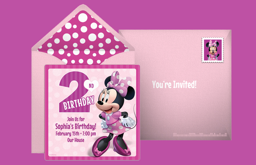 Plan a Minnie 2nd Birthday Party!