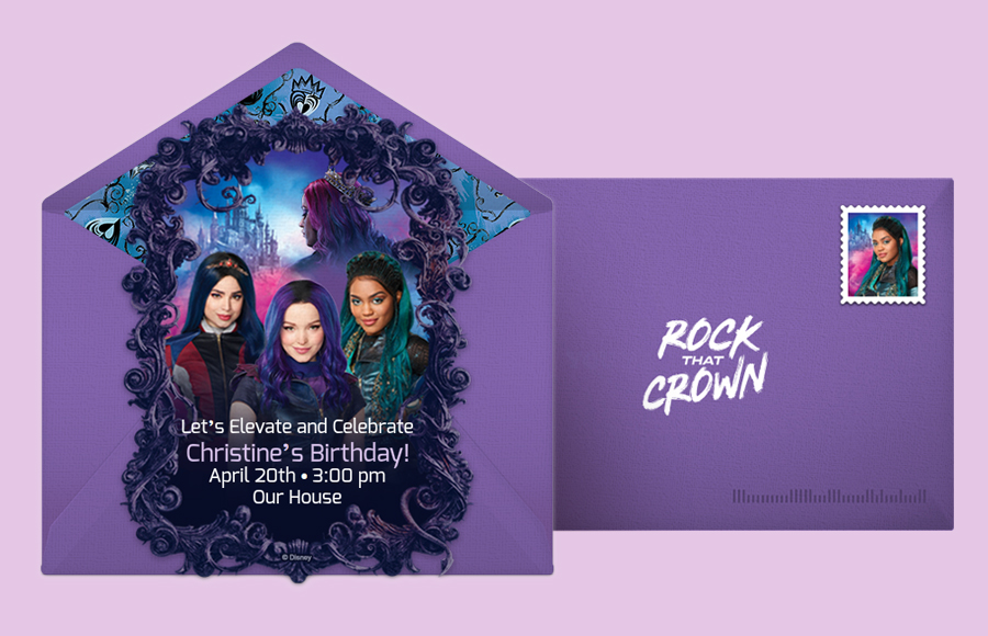 Plan a Descendants 3 Party!