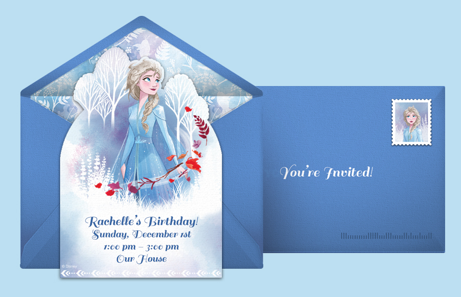 Plan a Frozen 2 Elsa Party!