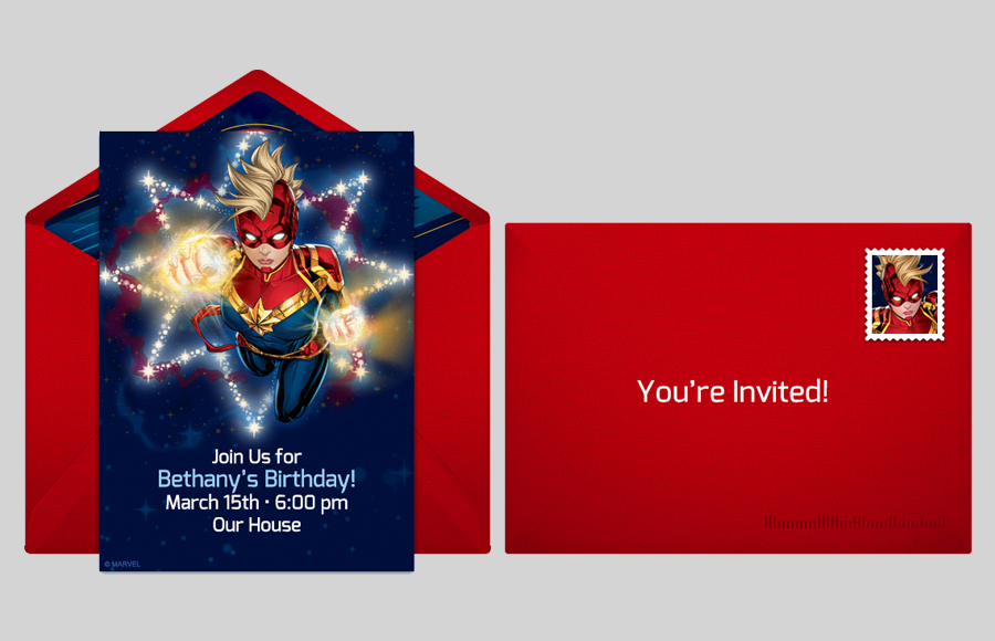 Plan a Captain Marvel Party!