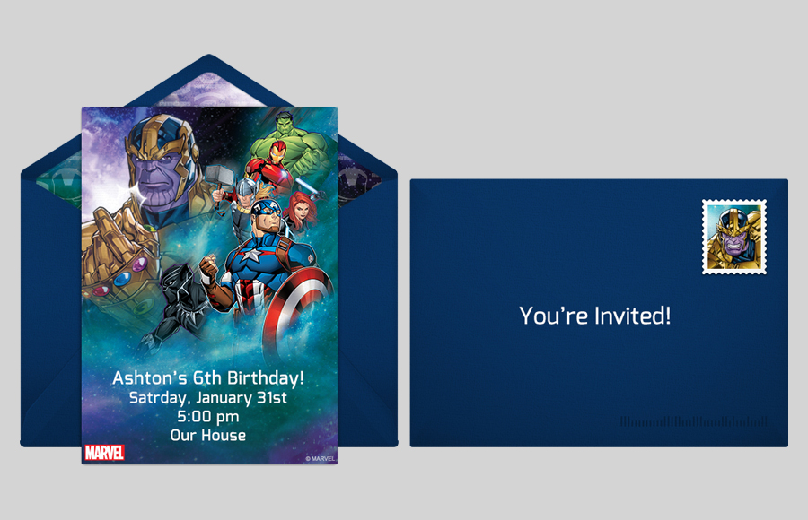 Plan a Avengers vs. Thanos Party!