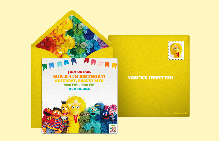 Plan a Sesame Street 50th Anniversary Party!