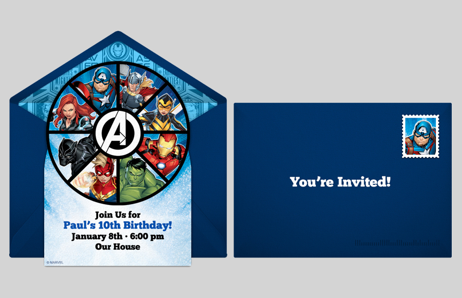 Plan a Avengers Assemble Party!