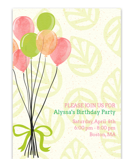 Spring Birthday Celebration